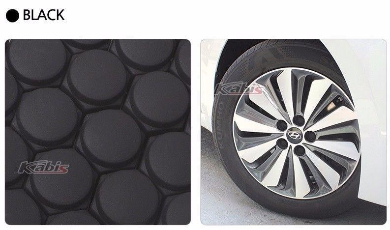 Kabis wheel bolt cover 20 pcs silicon wheel cap protecting