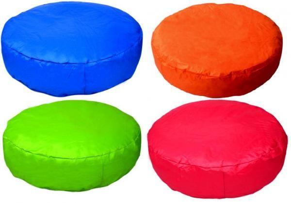 Pouf poltrona pieno a forma di ISOLA in PVC lavabile. Compra on-line su KAWIN.IT euro 60,99