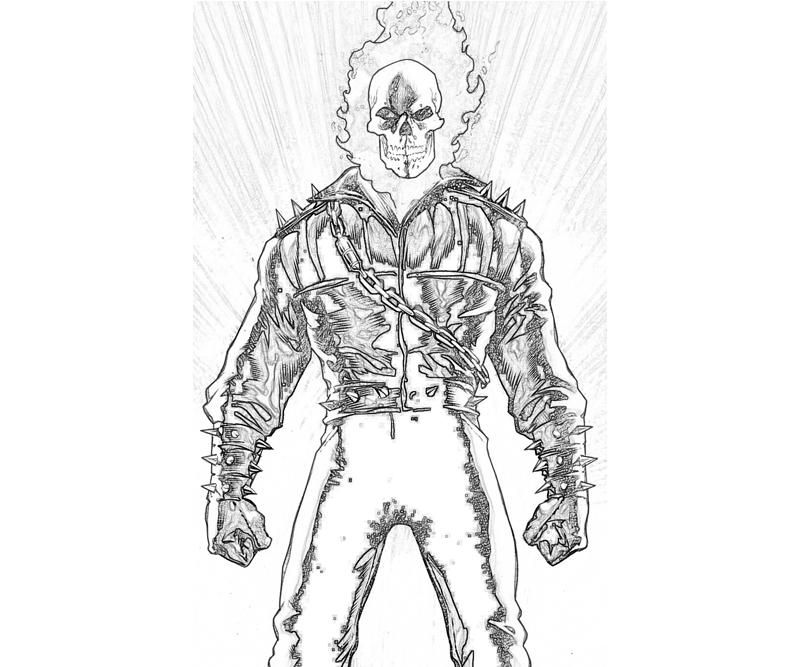 Ghost Rider Coloring Pages Ghost Rider Coloring Pages To Print Coloring Pages