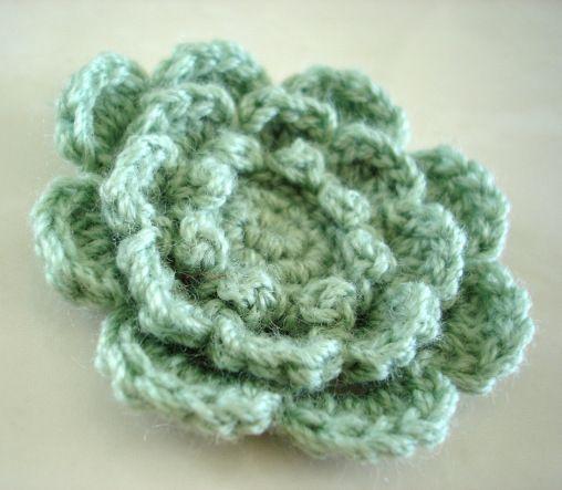 Wicked Crochet Flower 2