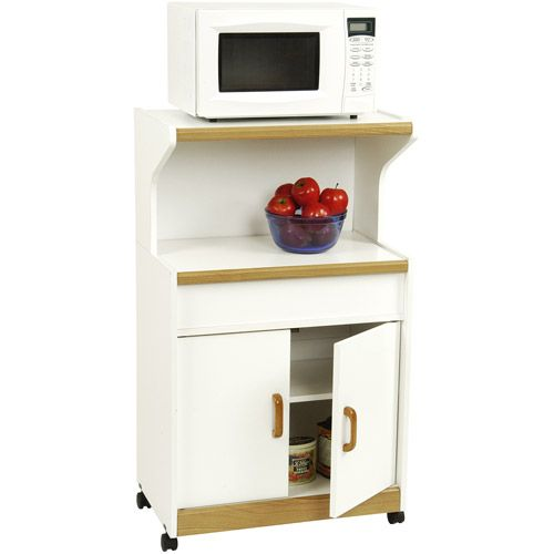 Walmart Utility Shelves Microwave Cabinet With Doors And Two Shelves$7900 At Walmart