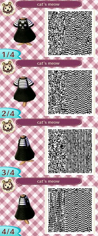 Animal crossing qr codes clothes image by marie ayuso on