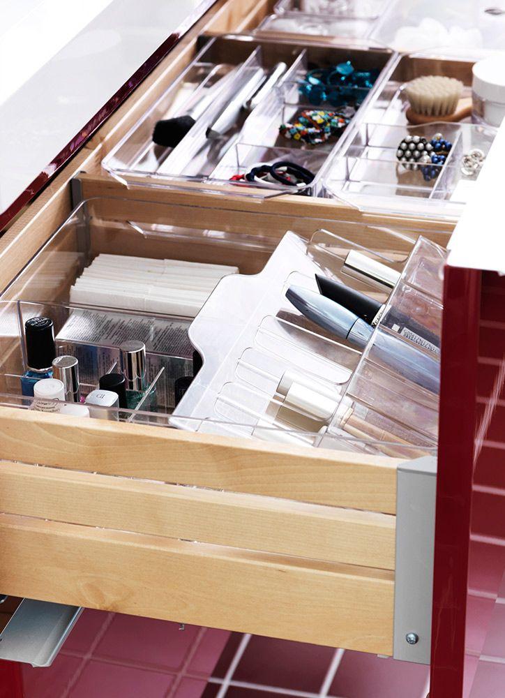 El orden dentro del orden en los separadores para for Ikea organizador cajones cocina
