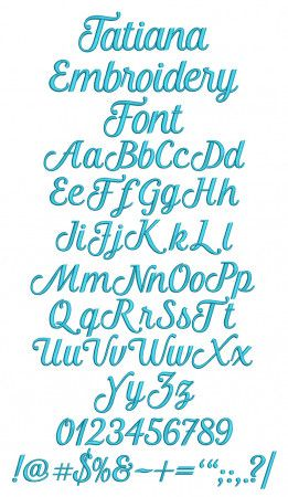 BX Fonts Embrilliance for Machine Embroidery Design Craft Alphabet 1.5 Inch