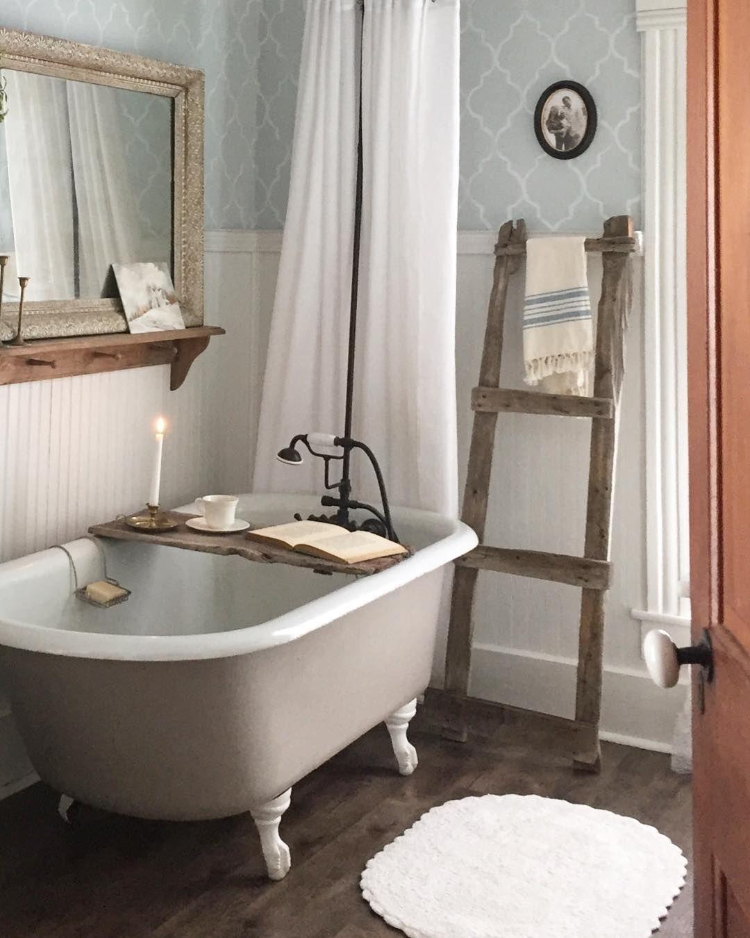 Image May Contain Indoor Timeless Bathroom Bathroom Farmhouse