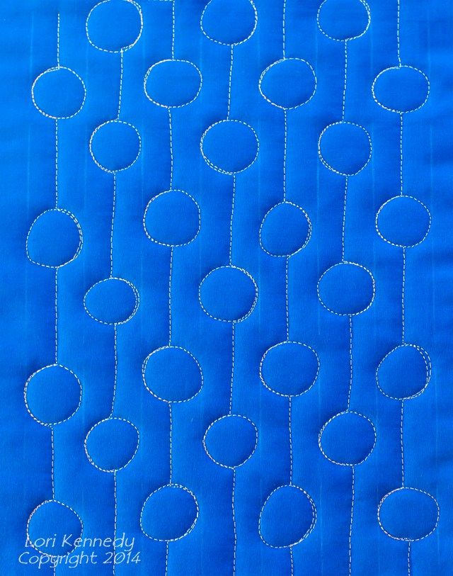 Free Motion Quilting, Dots and Dashes | Free motion quilting ... : how to quilt free motion - Adamdwight.com