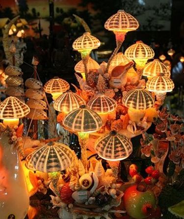 sea urchin lamps. underwater party theme? | Stuff I want to make ...
