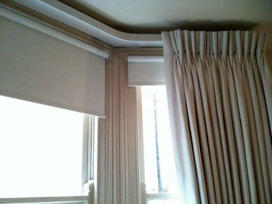 Is This What You Mean Curtains Just With A Double Pleat