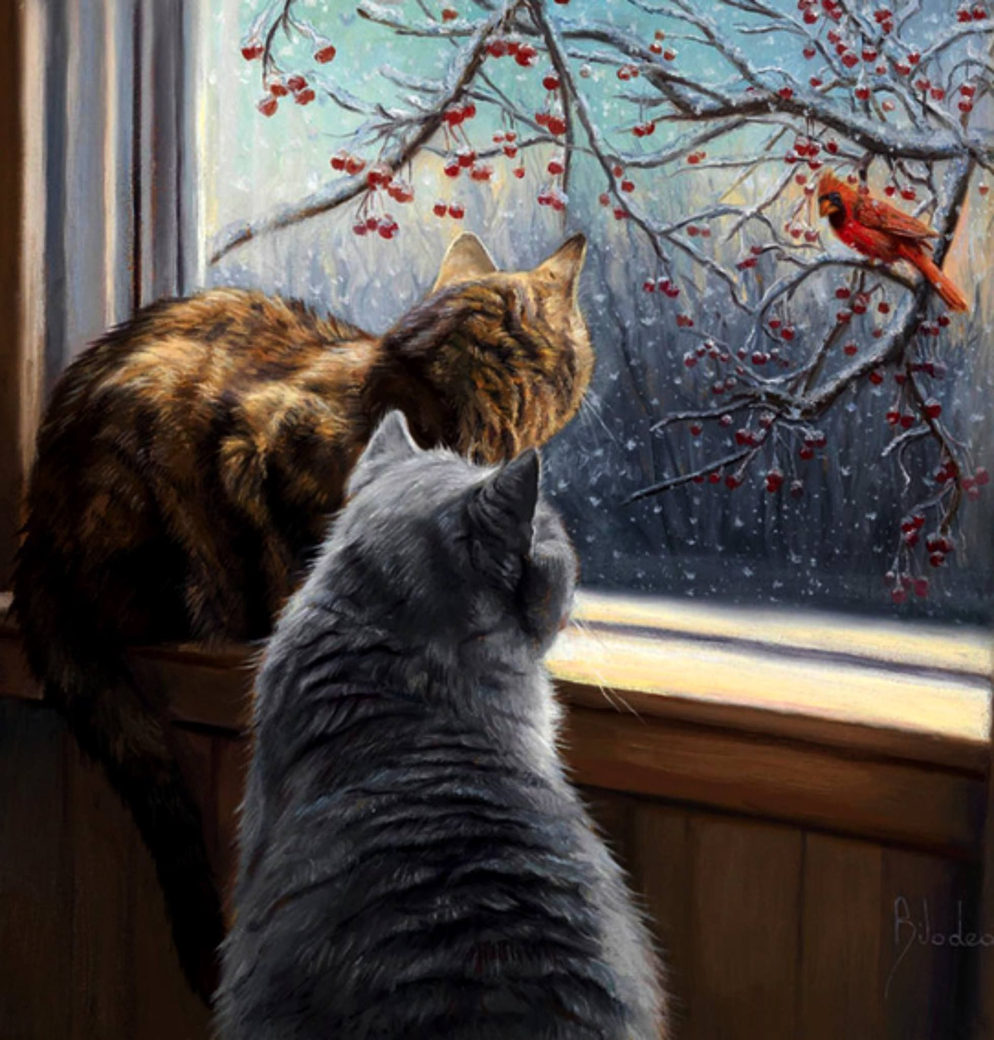 Lucie Bilodeau   Cat art, Cat painting, Cat artwork