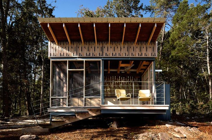 Off-Grid Tennessee Micro Cabin Packs in High Design | Higher ...