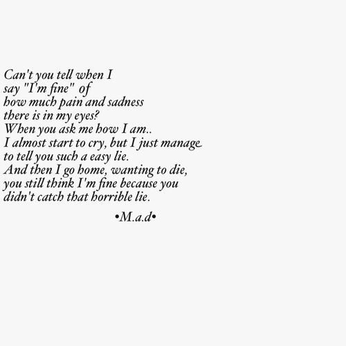 Suicide Poems And Quotes: Quotes About Suicidal Thoughts