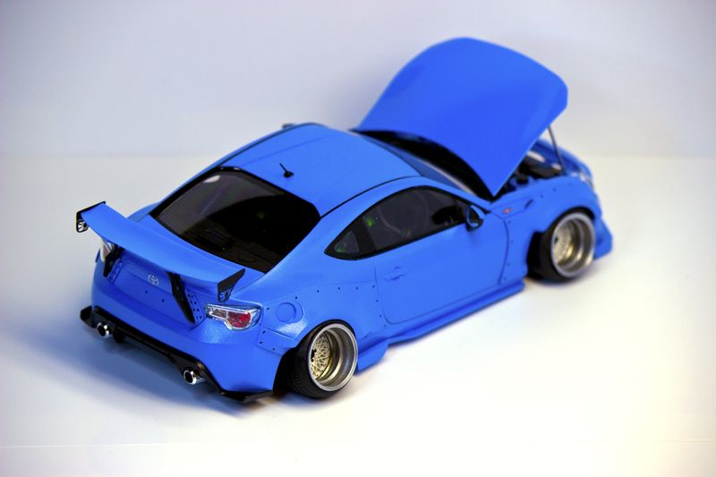 Scale Rocket Bunny Ft Caution Camber Nice Rc