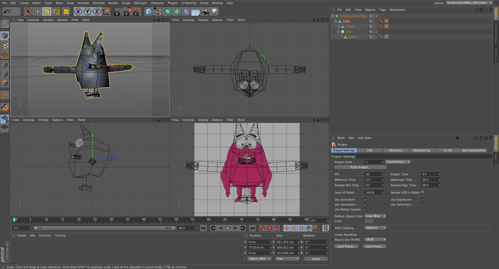 Cinema 4d Character Design Tutorials : Easy steps to modeling your first character in cinema d