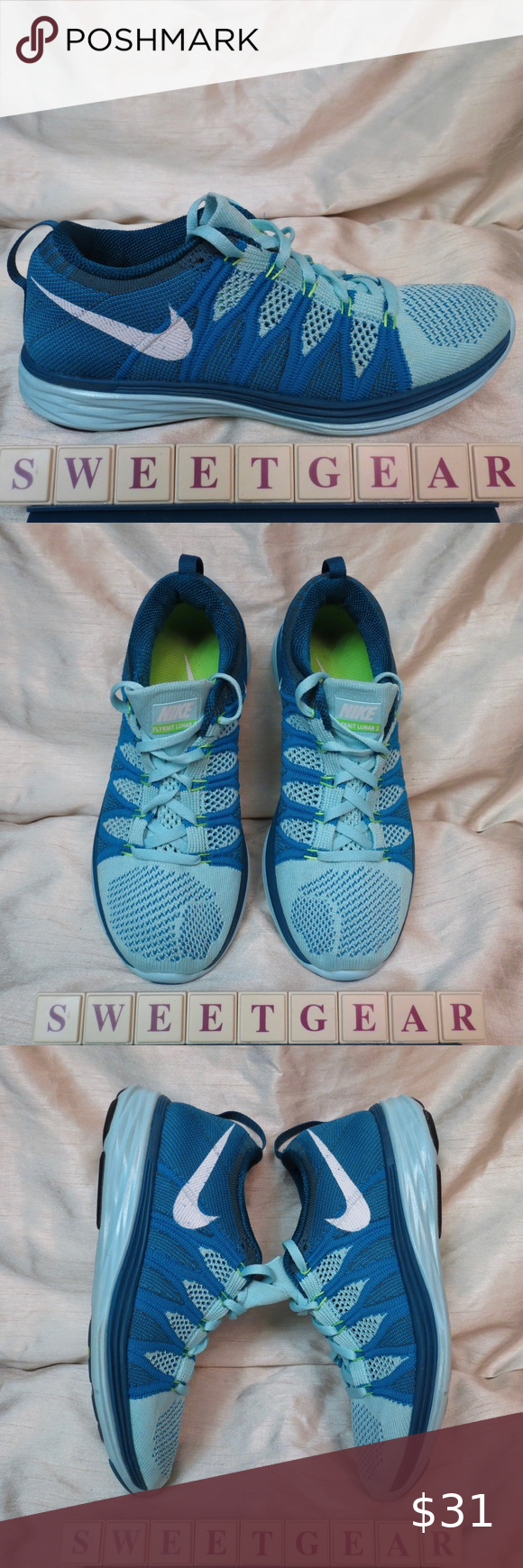 ballena azul Método papel  Nike Flyknit Lunar 2 Women's in 2020 | Custom nike shoes, Nike flyknit, Flyknit  lunar