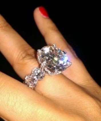 Shantel Jackson Engagement Ring Youve been dating the person of