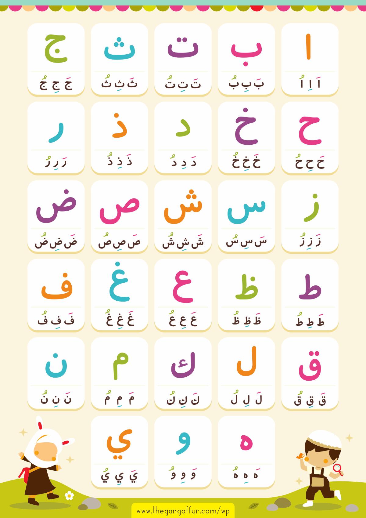 Download Belajar Menulis Huruf Abjad A Z