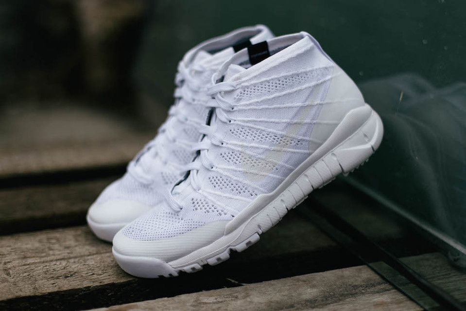 "0f8299542525e A Closer Look at the Nike Flyknit Trainer Chukka SFB ""White White"" •  Highsnobiety"