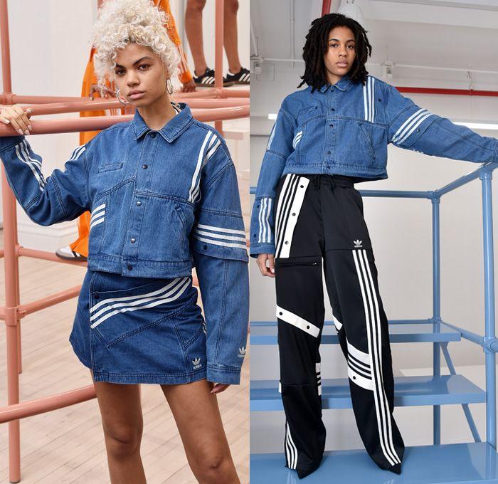 9a7483987f34 Adidas Originals By Danielle Cathari 2018-2019 Fall Autumn Winter Womens  Lookbook Presentation - New York Fashion Week NYFW - 3 Three Stripes  Sportswear ...