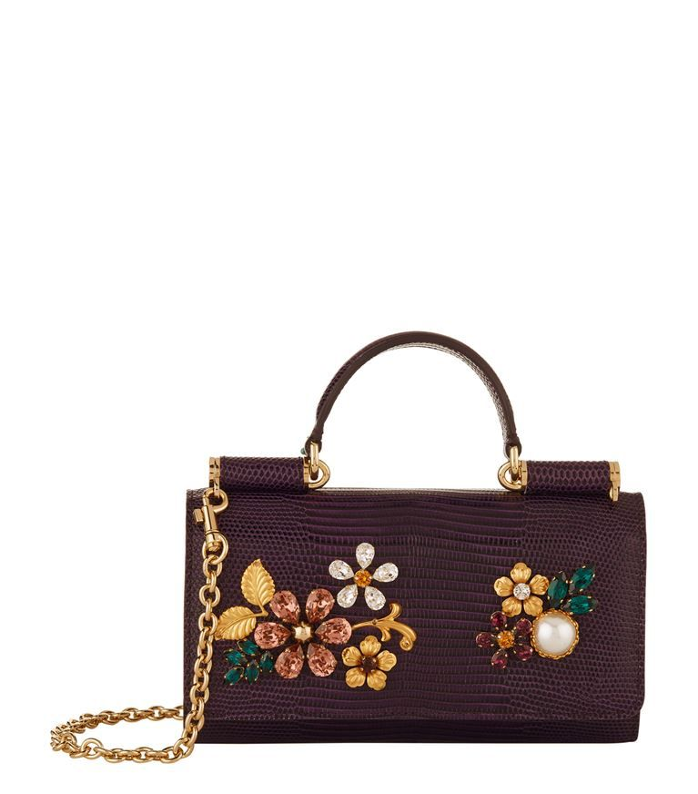 Accessories  Mini Bags Dolce   Gabbana Embellished Phone Bag ... a8326ae36e785