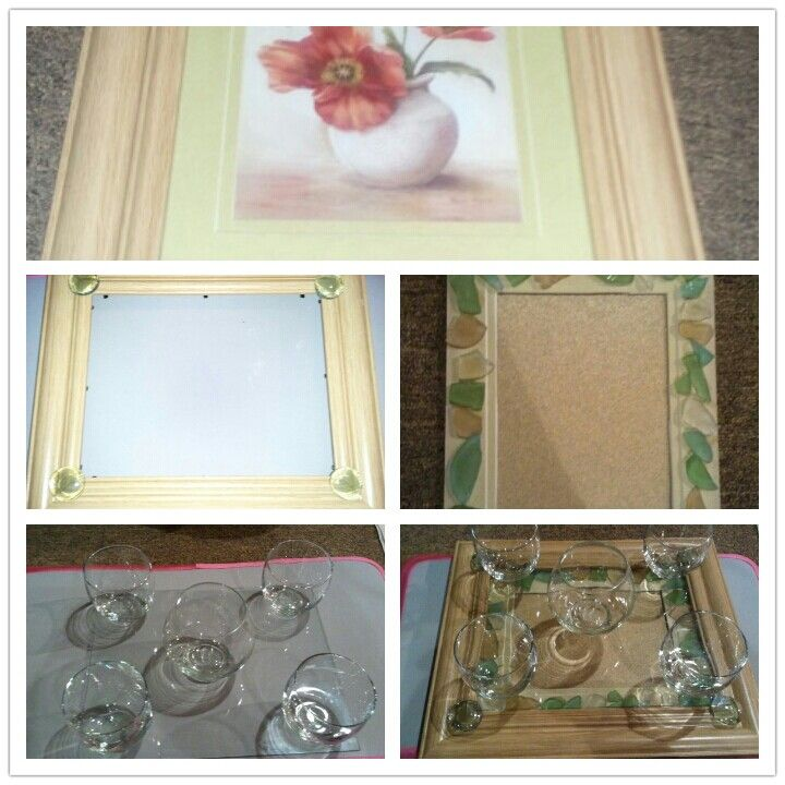 Picture frame.... nooo it's a candle holder