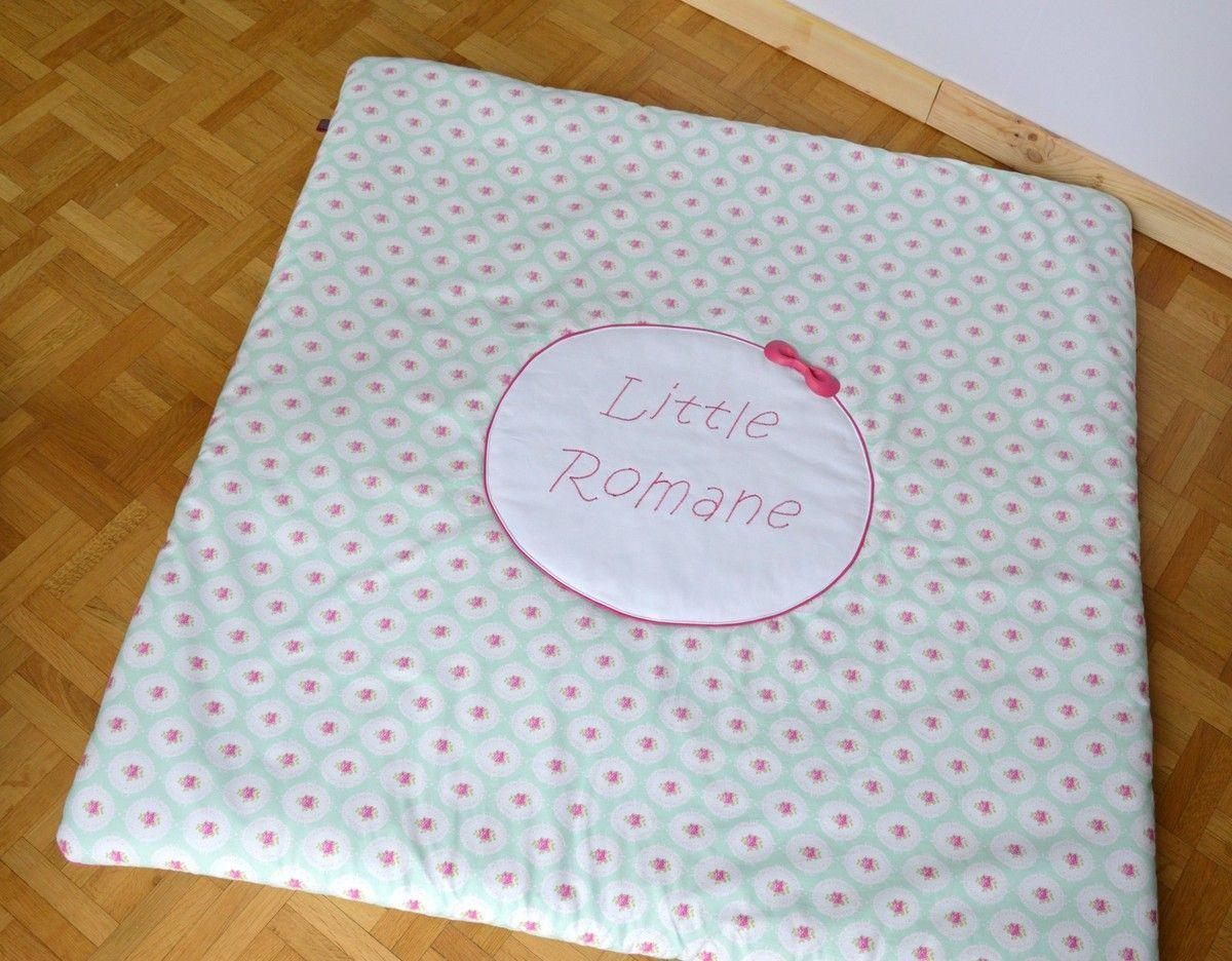 Alice Balice DIY - Tapis de jeu romantique