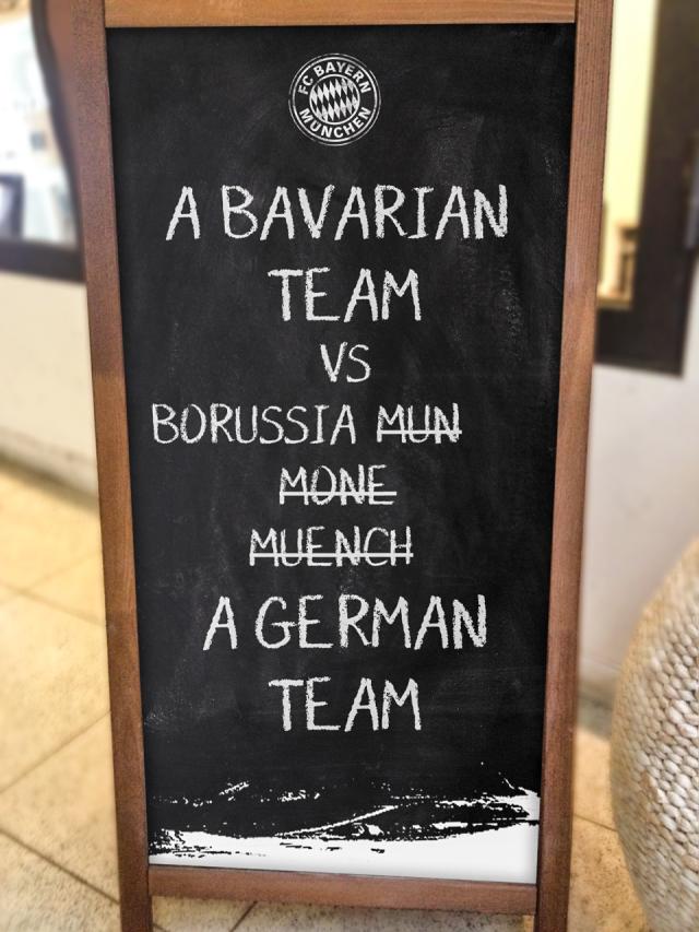 Bayern München vs Borussia Mönchengladbach