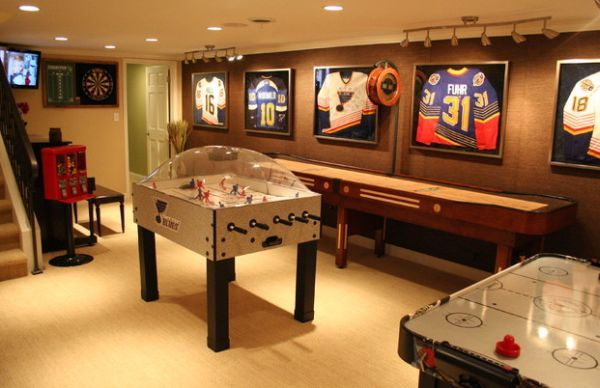 Indulge Your Playful Spirit With These Game Room Ideas Game Room Basement Game Room Family Game Room Design