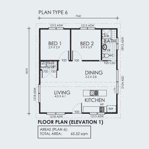 Backyard Shacks Outback Affordable House Plans House Floor Plans Floor Plans