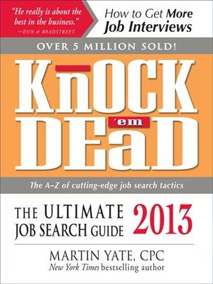 Knock u0027em Dead Careers \ Job Hunting Pinterest - knock em dead resume templates