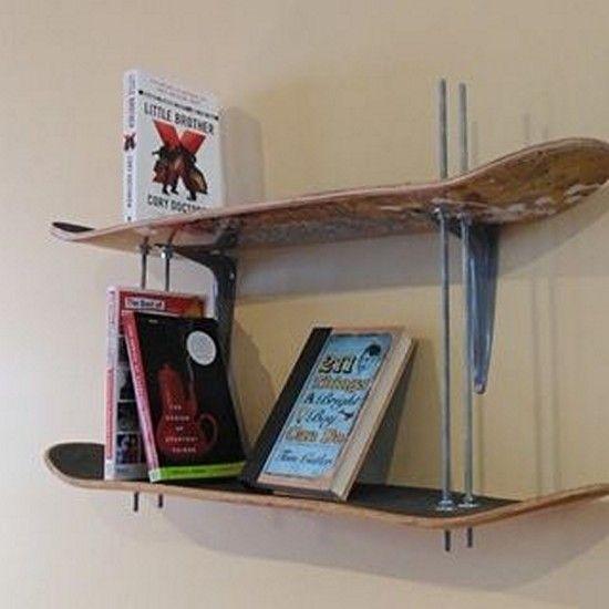 22 Creative Home Shelf Ideas