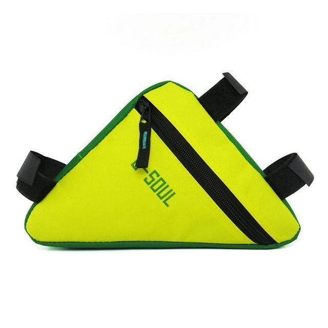 MTB Mountain Bike Bicycle Front Frame Triangle Bag Water Bottle Holder Tube Bag
