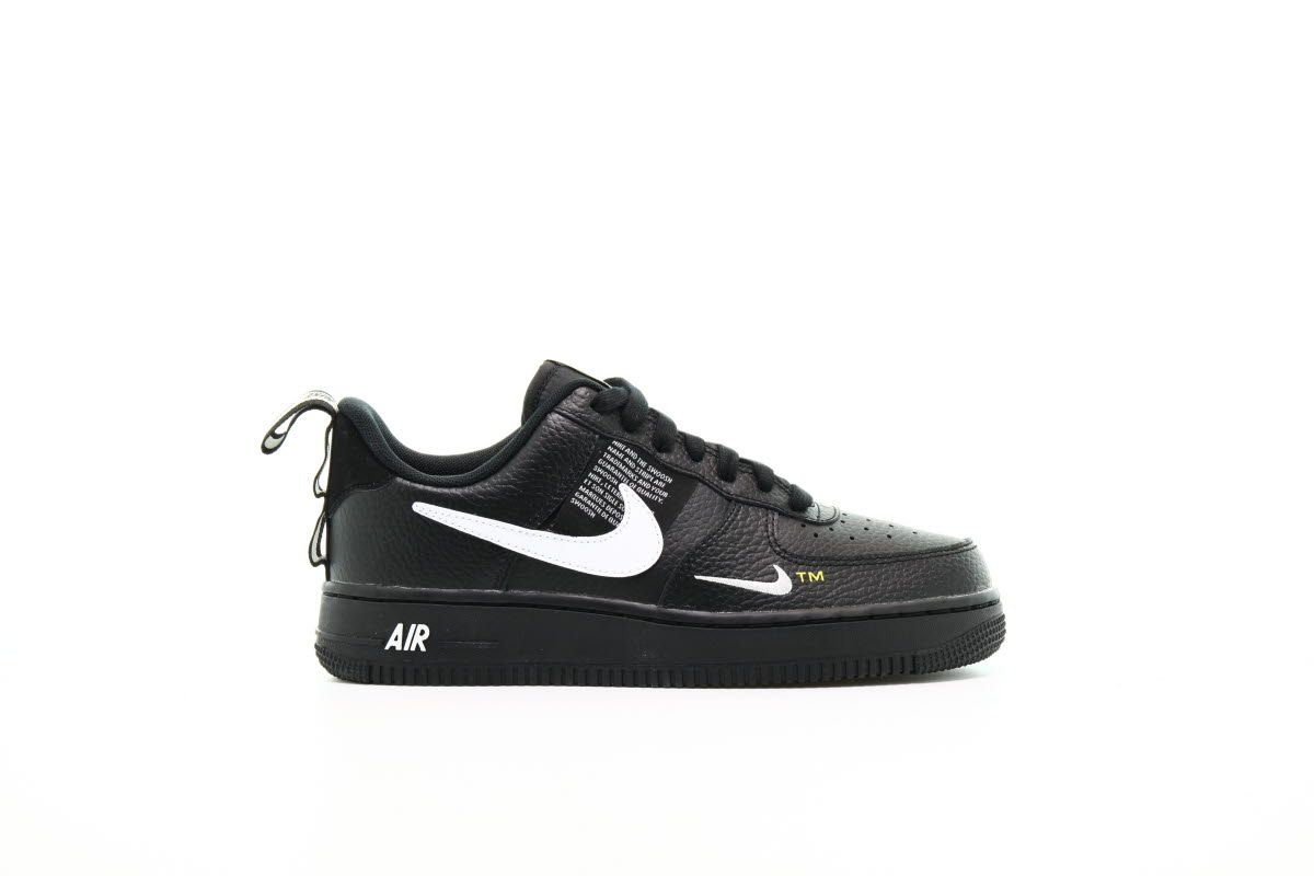 Nike Air Force 1 07 Lv8 Utility Black Sneakers Sneaker Streetwear Nike Air Force Nike