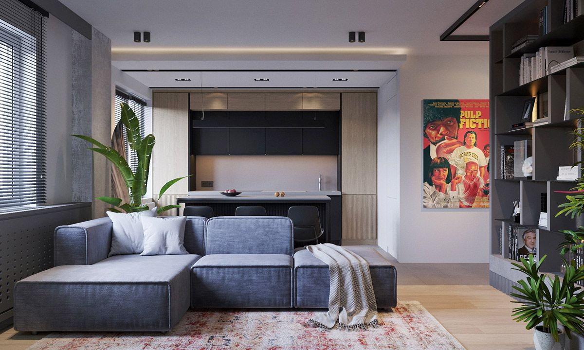 Three industrial style lofts with natural accents accents industrial lofts natural style three
