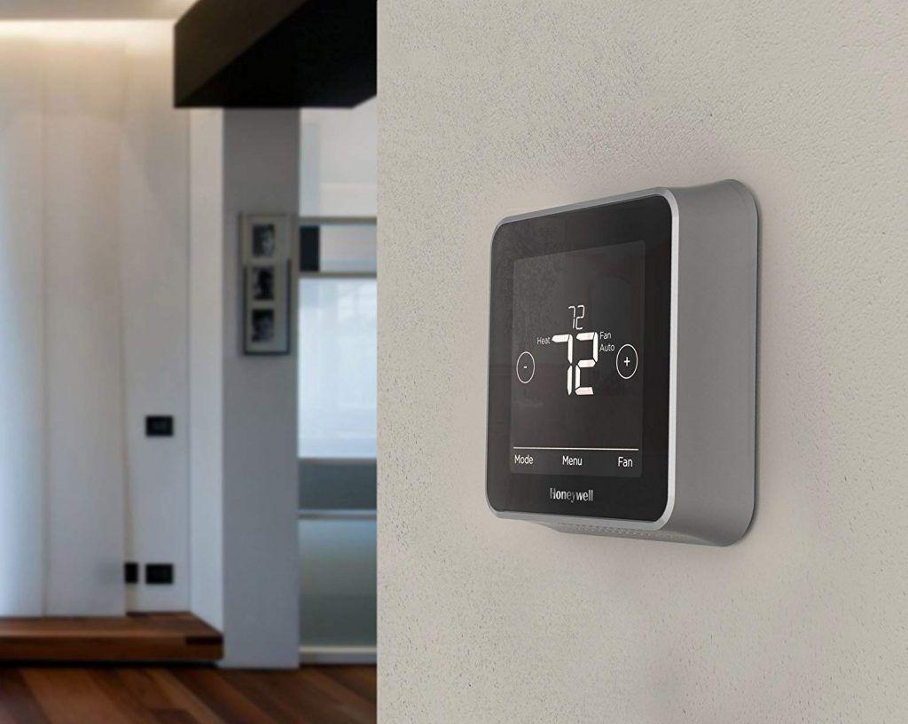 Honeywell T5 Plus Wi Fi Touchscreen Smart Thermostat Smart Thermostats Thermostat Home Thermostat