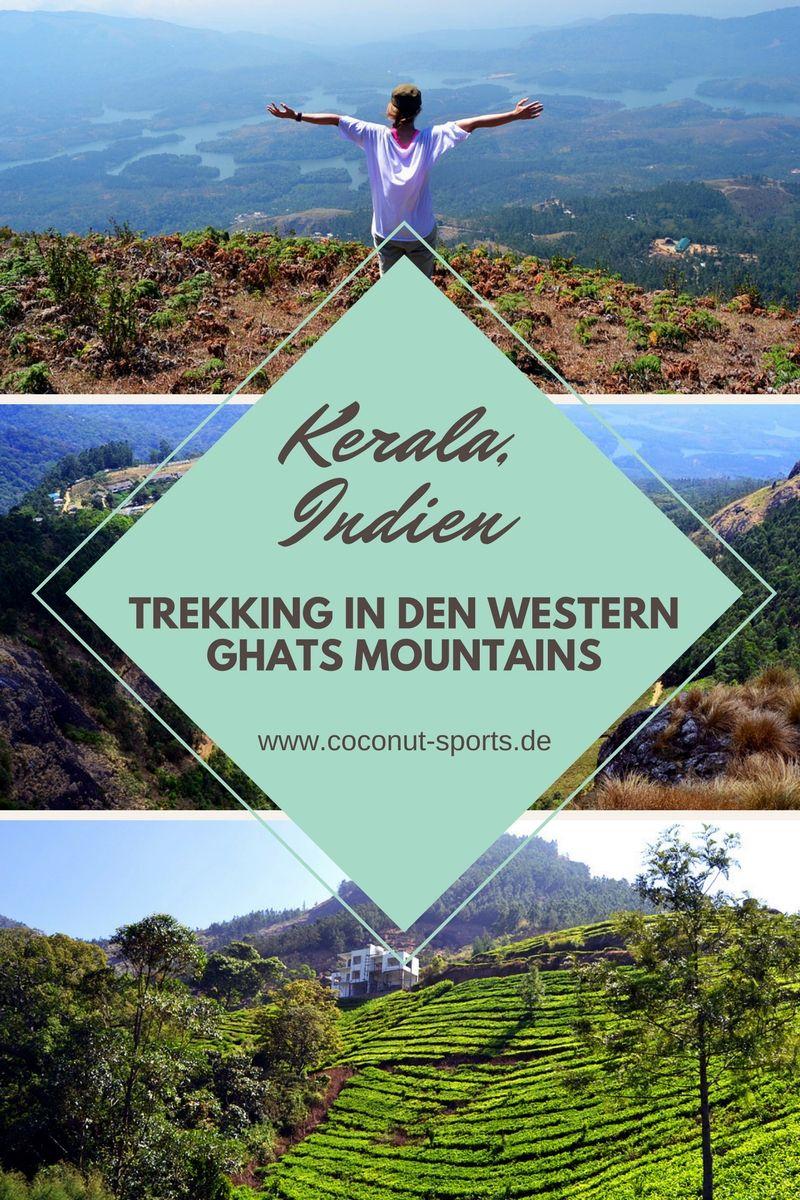 Westghats Die Western Ghats Mountains In Kerala Indien Reise