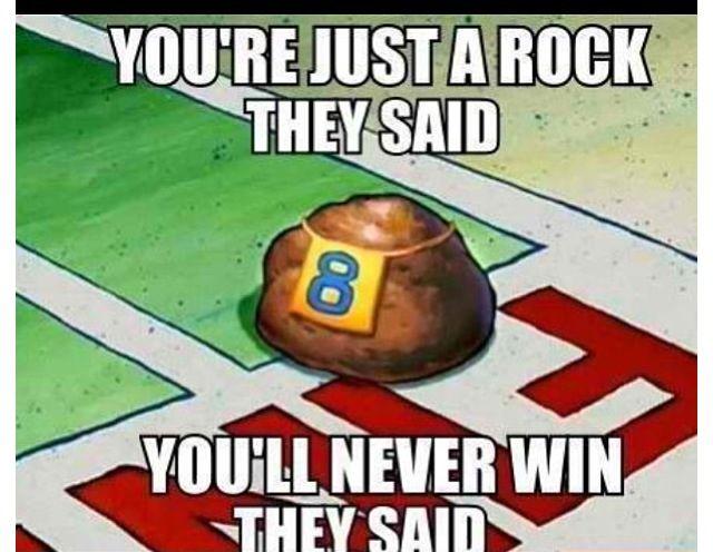 They Said Than Rockie Couldn T Spongebob Funny Spongebob Memes Spongebob
