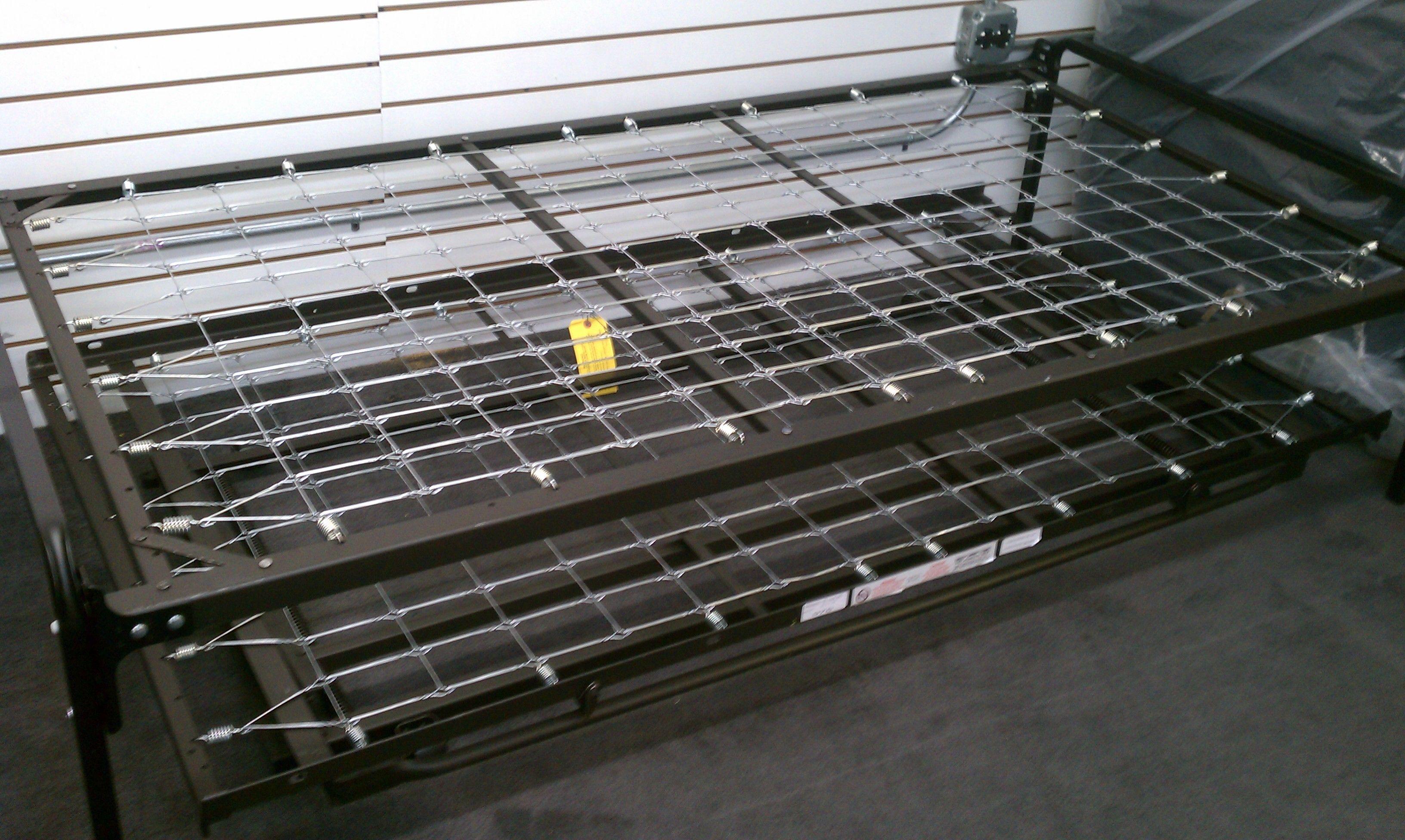 PopUp Trundle Bed High Riser Set (Top Link Spring