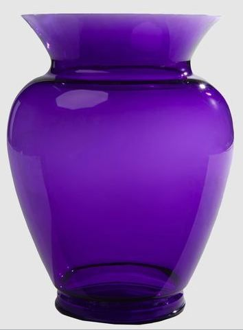 Kartell By Philippe Starck Vase In Purple At Yoox On Fdm Purple