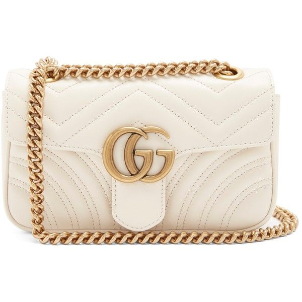 106980fc7630a Gucci GG Marmont mini quilted-leather cross-body bag ( 1