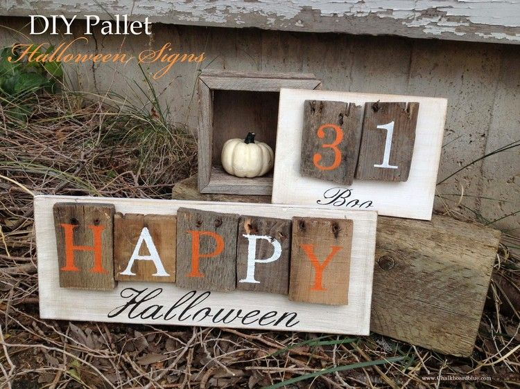 Pallet Halloween Yard Decoration Ideas Pallets, Outdoor ideas and - halloween outside decoration ideas