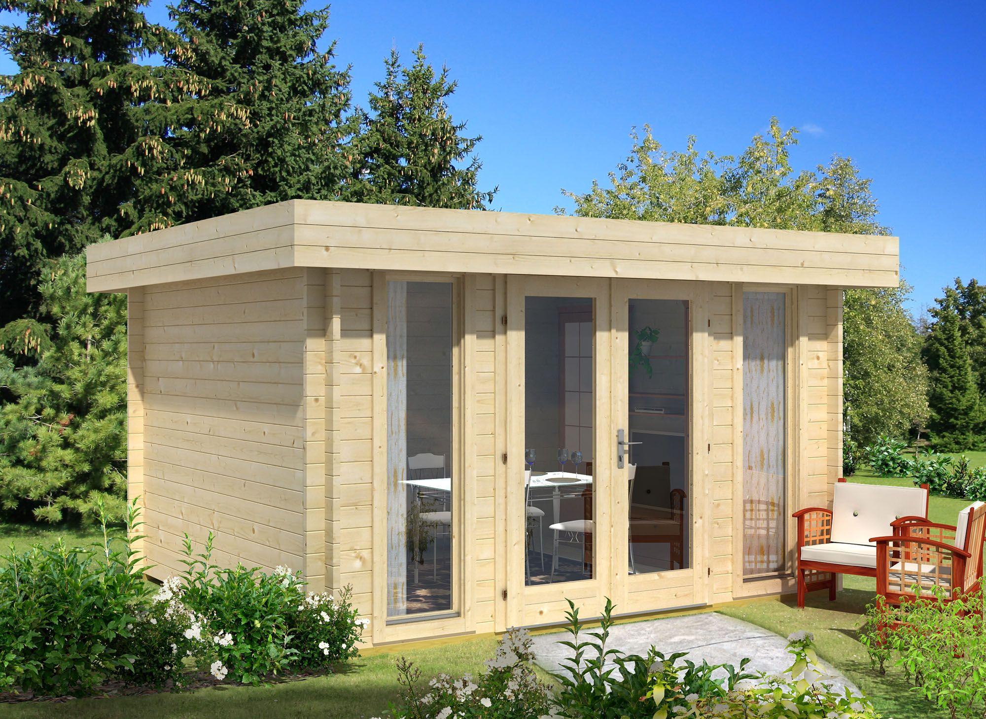 Die Gartenhaus Gmbh Ist Ihr Gunstiger Onlineshop Fur Haus Und Garten Gartenhaus Sauna Carport Co 0 Flachdach Gartenhaus Gartenhaus Modern Gartenhaus