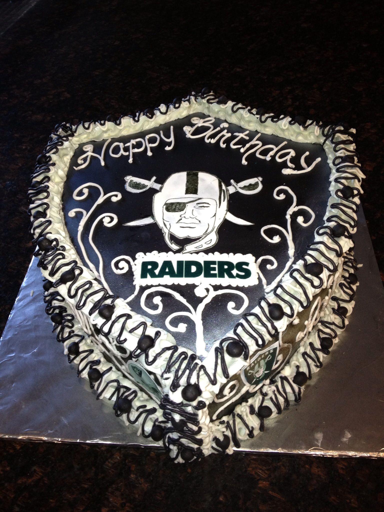 Michelle For Reals Pleeeeeeeease Make Me My Raiders Cake