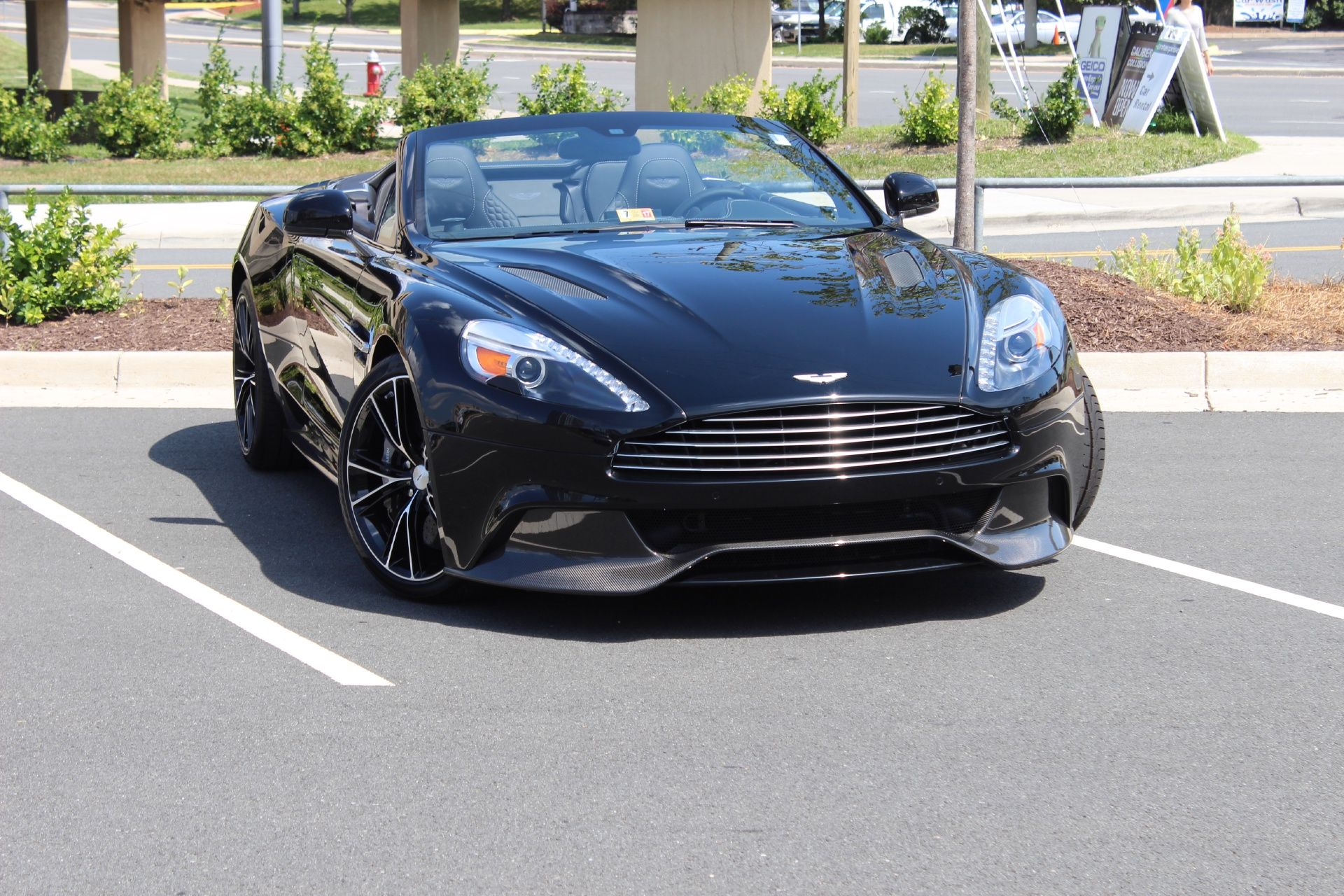 Cool off in the new 2016 Aston Martin Vanquish Volante AstonMartin