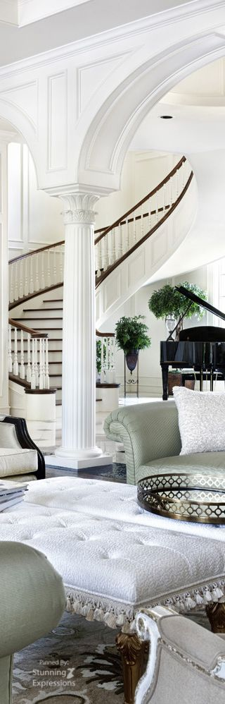 So Extremely Grand And Completely Chic Not My Dream Home But So Very Beautiful Coastal Living Rooms Home Interior Decorating