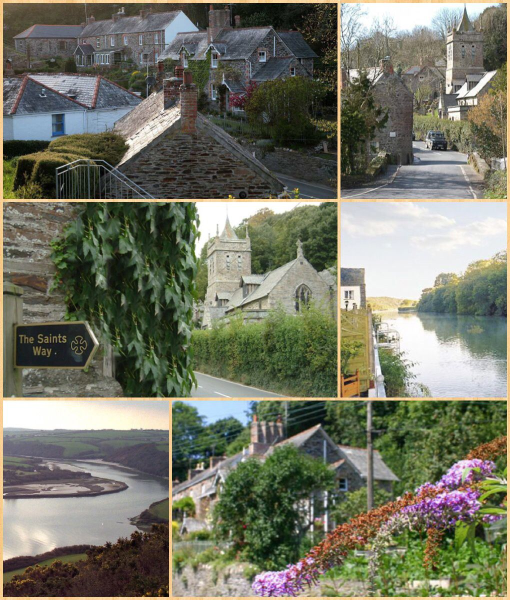 Little Petherick Cornish Nansfenten Is A Village And Civil Parish In North Cornwall