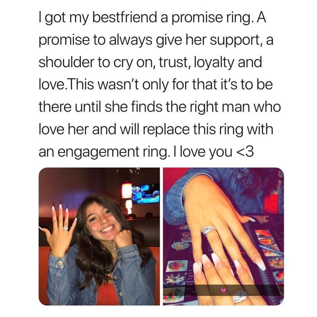 50 off ALL promise rings! link is in our bio to purchase