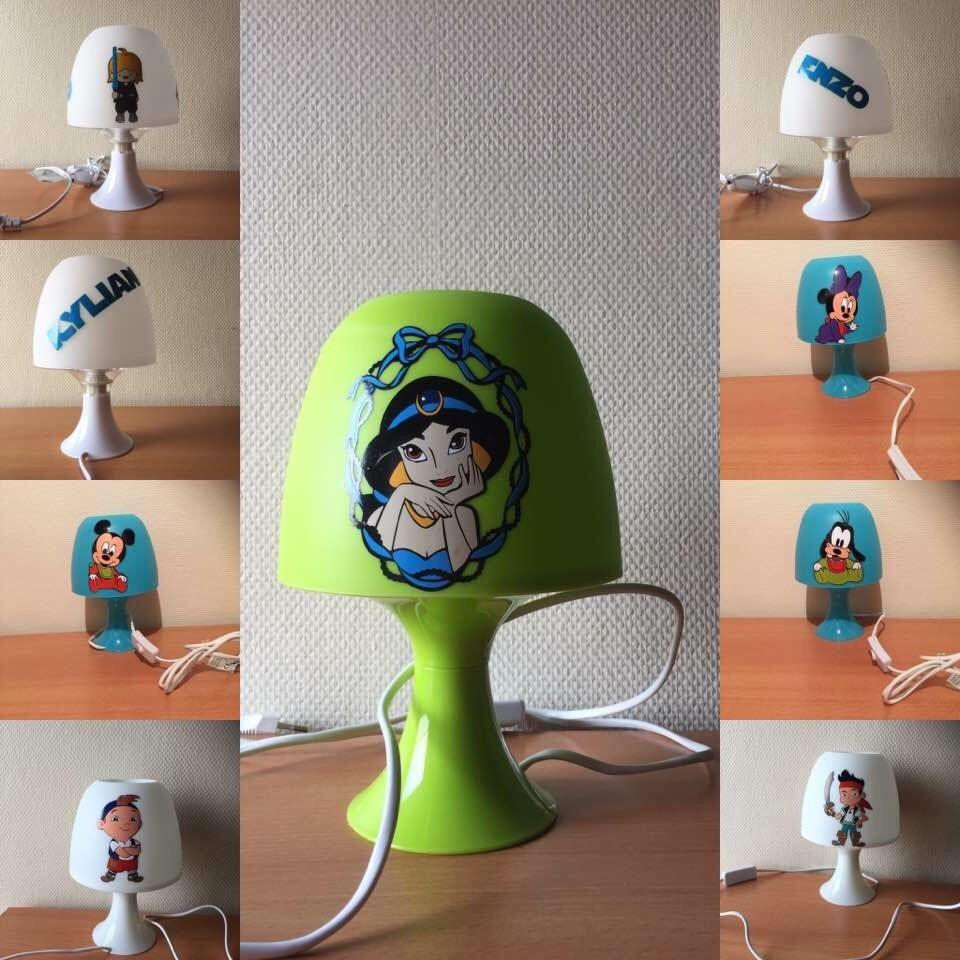 Or LampLampe Disney Chevet De Other Personnalisée Minion XOZuPki
