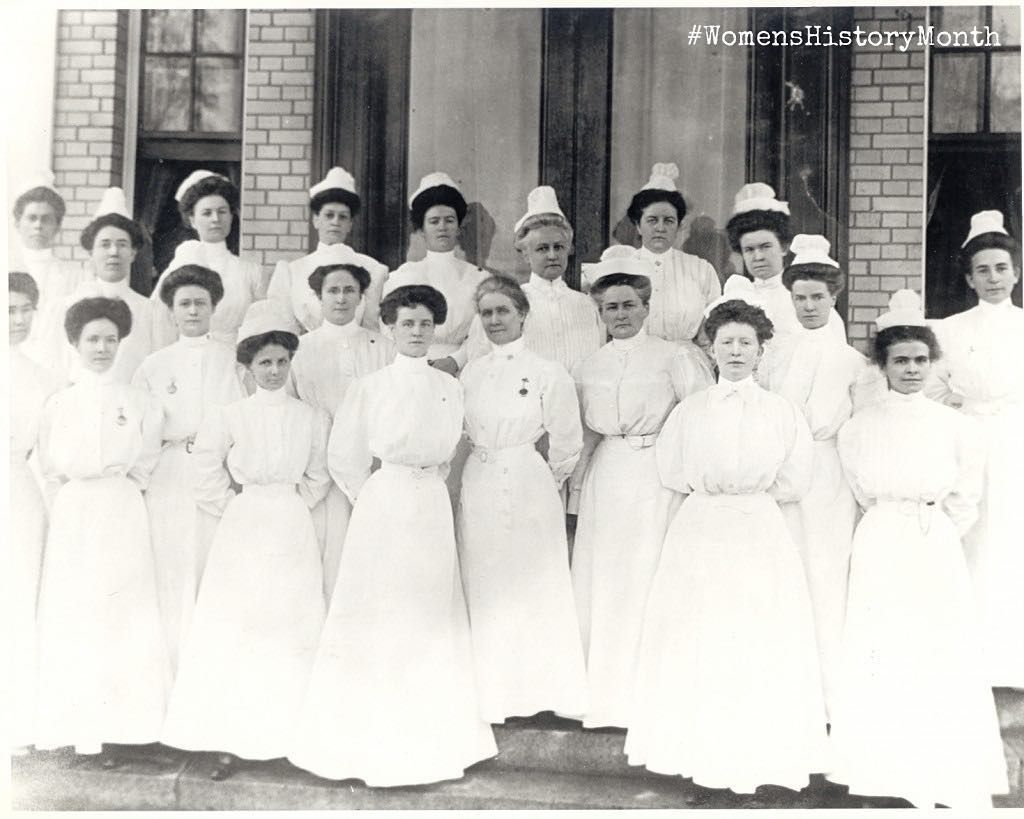 The first women to serve in the Navy were nurses beginning