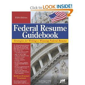 AmazonCom Federal Resume Guidebook Strategies For Writing A