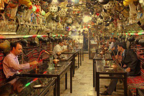 Oldest Tea house in Esfehan, Iran